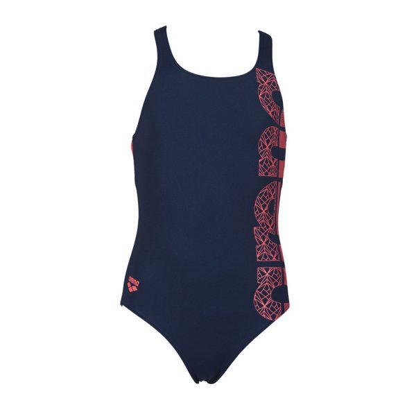 Arena Equalibrium Girls Blue Swimsuit