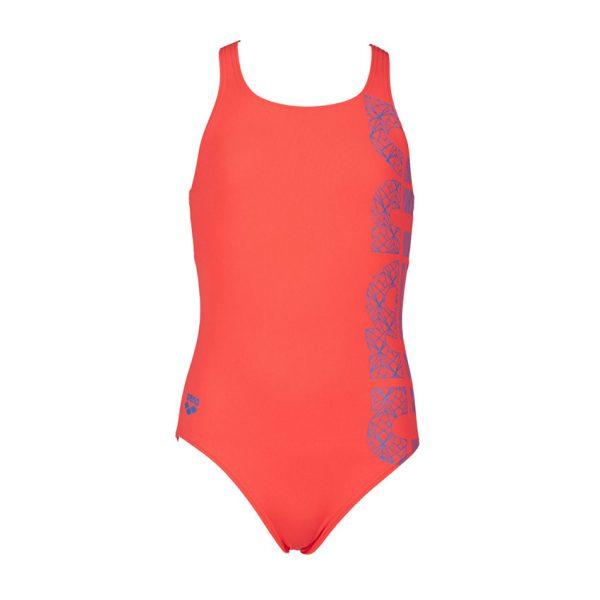 Arena Equalibrium Girls Pink Swimsuit
