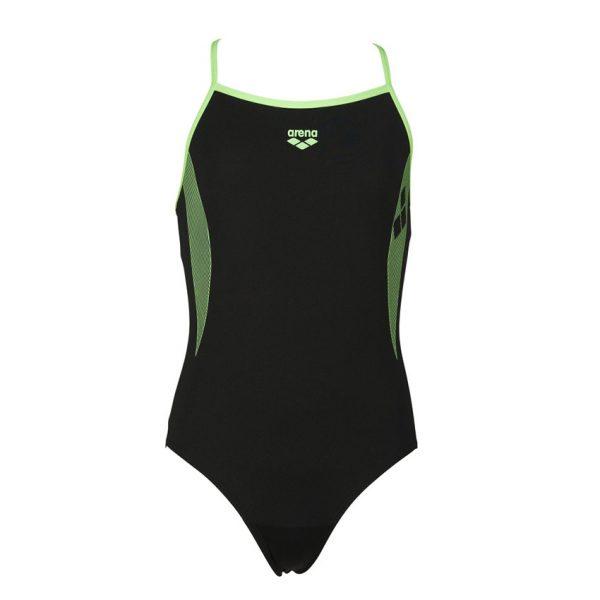 Arena Demetra Girls Black Swimsuit