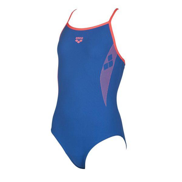 Arena Demetra Girls Blue Swimsuit