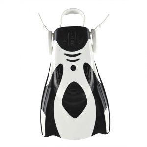 Arena Powerfin Fit White-Black