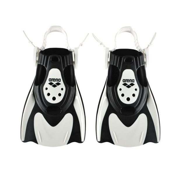 Arena Powerfin Fit White-Black