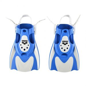 Arena Powerfin Fit White-Blue