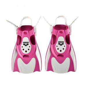 Arena Powerfin Fit White-Pink