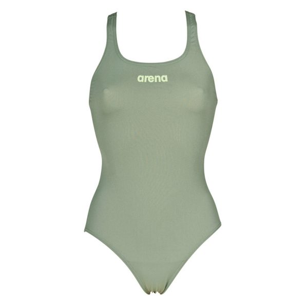 Arena Solid Pro Army Green Swimsuit