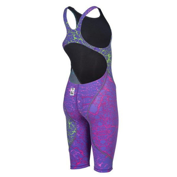 LIMITED EDITION Arena JUNIOR ST 2.0 Suit - Storm Pink & Green