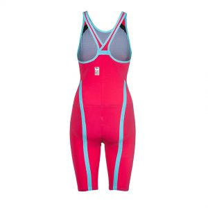 Arena Carbon Flex VX Closed Back Suit Red / Turquoise