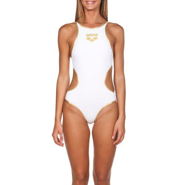 Biglogo One Arena White Swimsuit