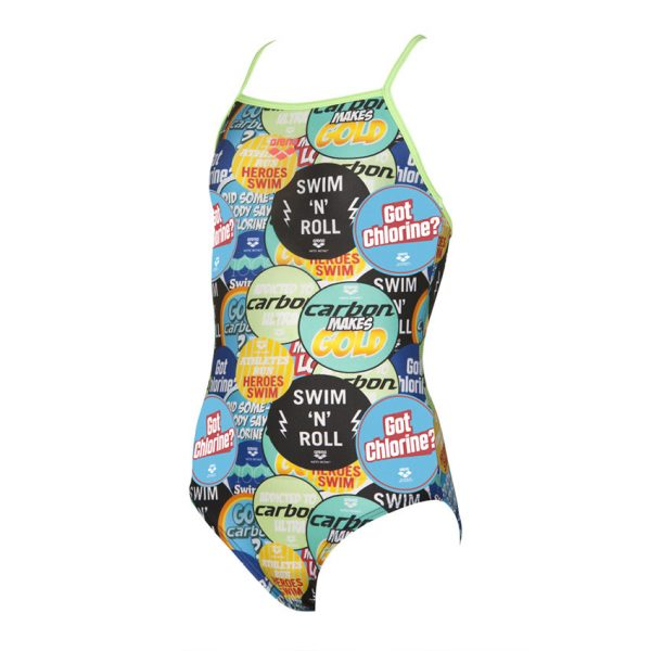 Arena Girls Swimsuit - Watchword
