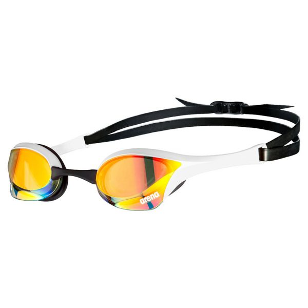 White Arena Cobra Ultra Swipe Racing Goggles