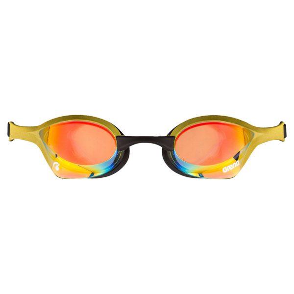 Gold Copper Arena Cobra Ultra Swipe Goggles