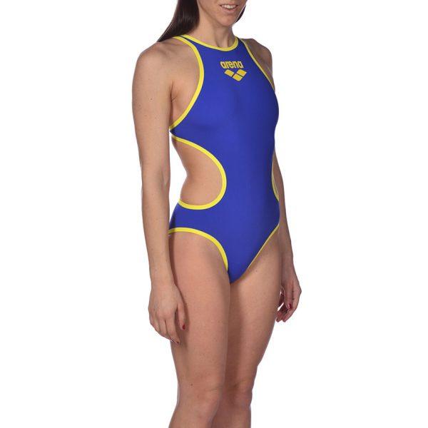 Biglogo Arena ONE Neon Blue Swimsuit