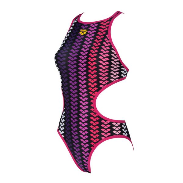Arena ONE Logo Stripe Swimsuit