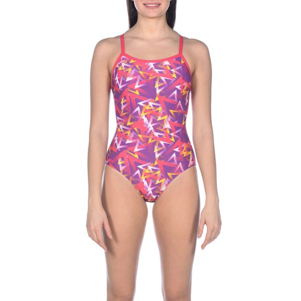 Purple Arena Triangle Swimsuit