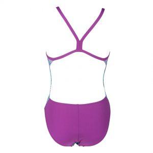 Arena Blue Snakeskin Swimsuit