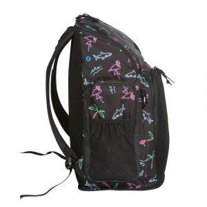 Black Neon Lights Arena Team Backpack 45