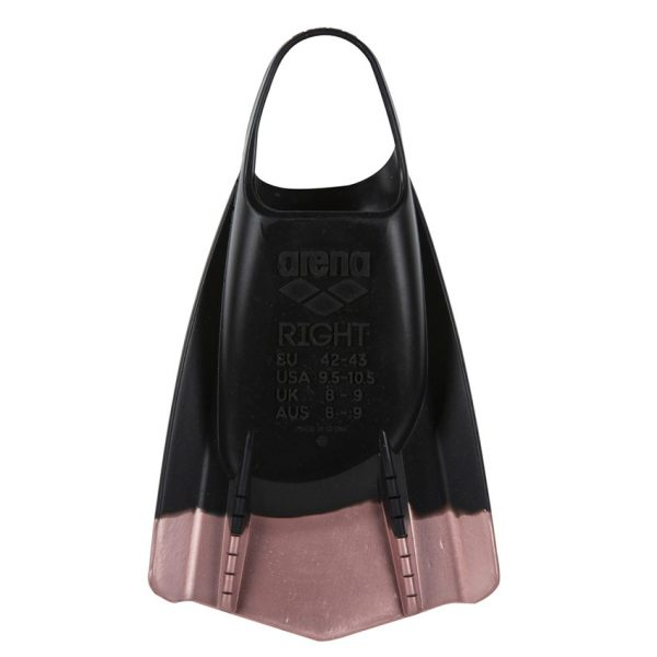 Arena Powerfin Pro Black Rose Gold