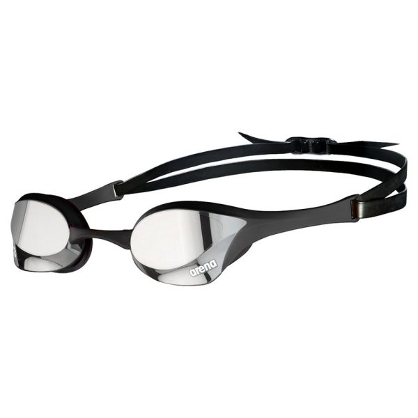Black Silver Arena Cobra Ultra Swipe Goggles