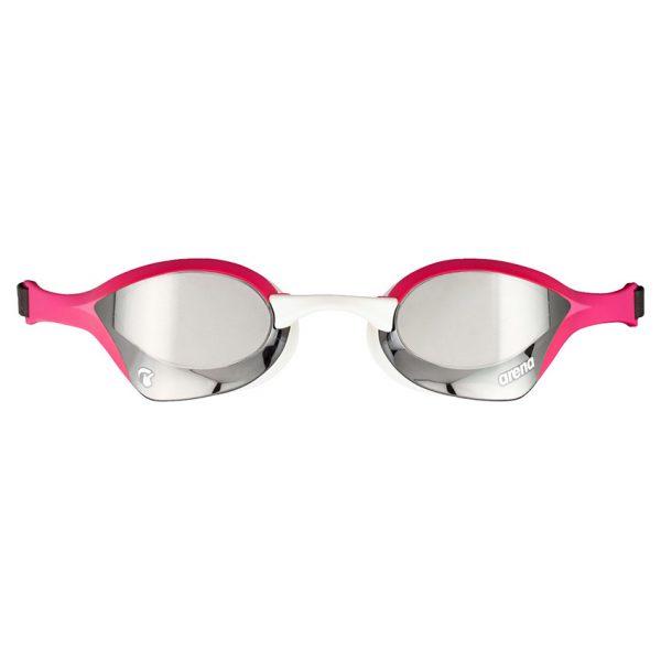 Pink Silver Arena Cobra Ultra Swipe Racing Goggles