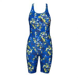 Blue Arena Triangle Legged Swimsuit
