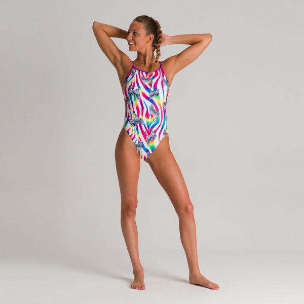 Arena Crazy Zebras Swimsuit