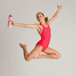 Arena Girls Chameleon Red Swimsuit