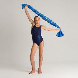 Arena Girls Blue Chameleon Swimsuit