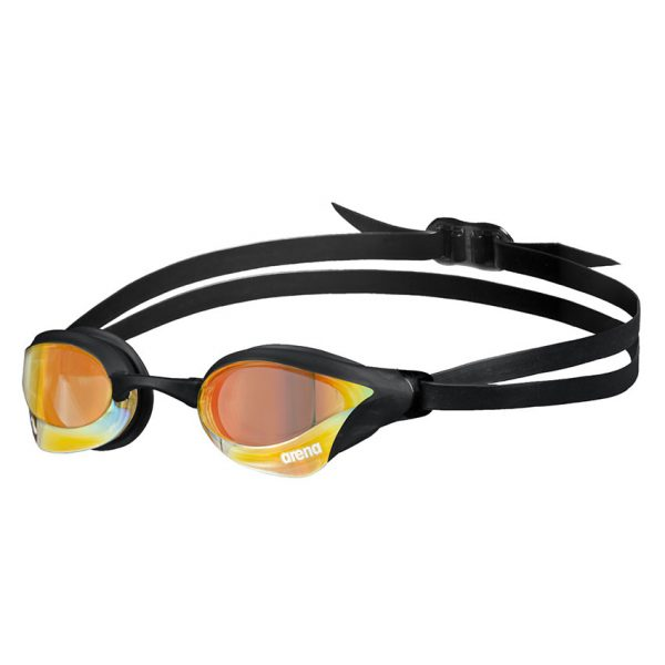 Yellow-Copper Black Arena Cobra Core Swipe Goggles