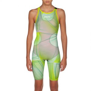 Junior Arena R-EVO ONE Suit - Green Glass