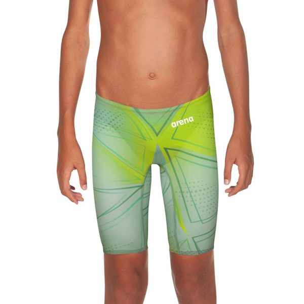 Junior Arena R-Evo ONE Jammers - Green Glass