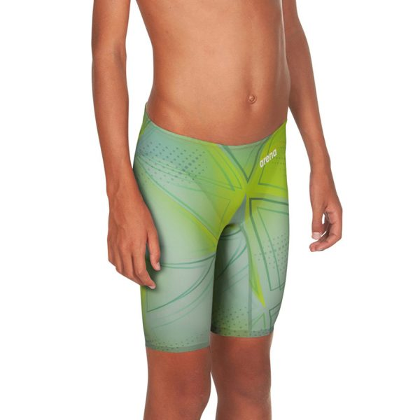Junior Arena R-Evo ONE Jammers - Grey Glass