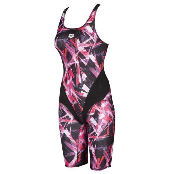 Pink Arena Light Lights Legged Swimsuit