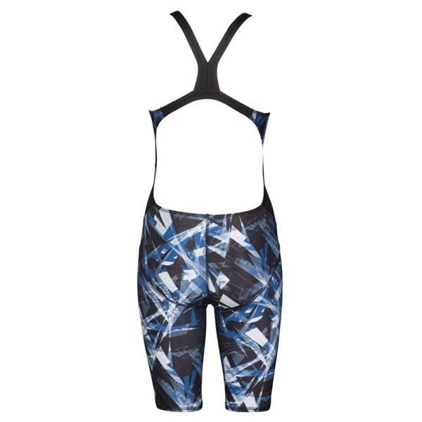 Blue Arena Night Lights Legged Swimsuit