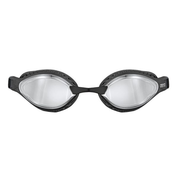 Silver Black Arena Airspeed Mirror Goggles