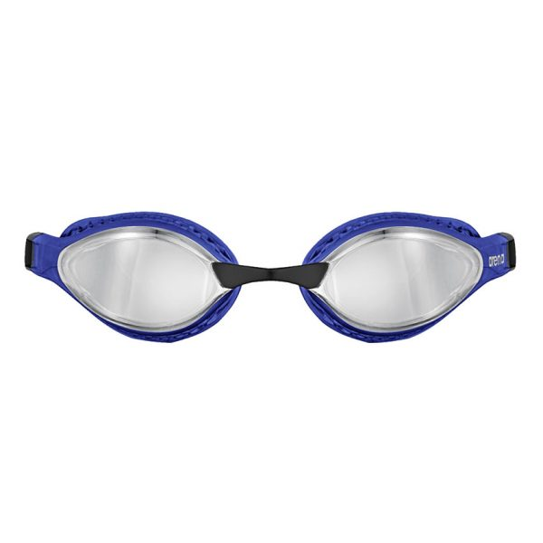Silver Blue Arena Airspeed Mirror Goggles