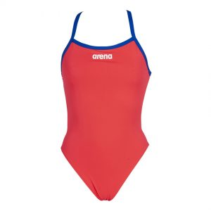 Arena Solid Light Tech Swimsuit - Fluo Red