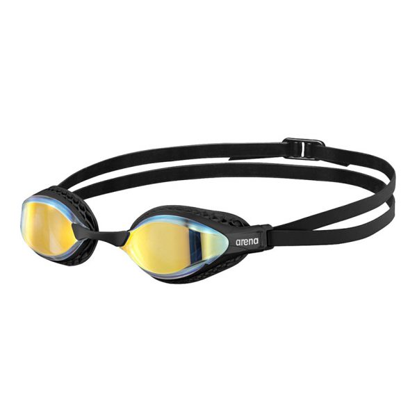 Black Arena Airspeed Mirror Goggles - Yellow Copper