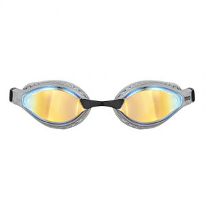 Silver Arena Airspeed Mirror Goggles - Yellow Copper