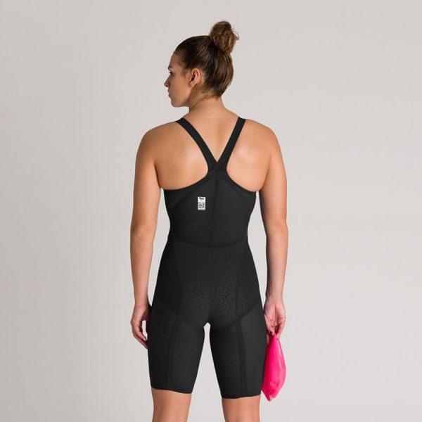 Arena Carbon Glide CLOSED BACK Suit - Black