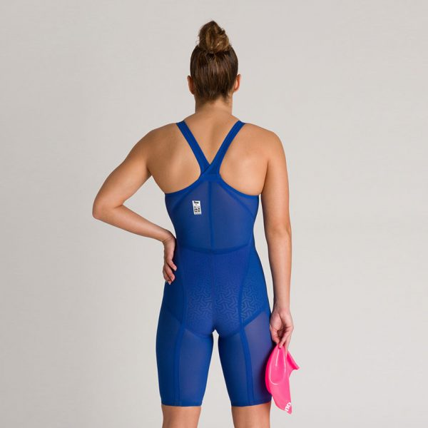 Arena Carbon Glide CLOSED BACK Suit - Blue