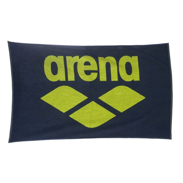 Arena Pool Towel - Shark Blue