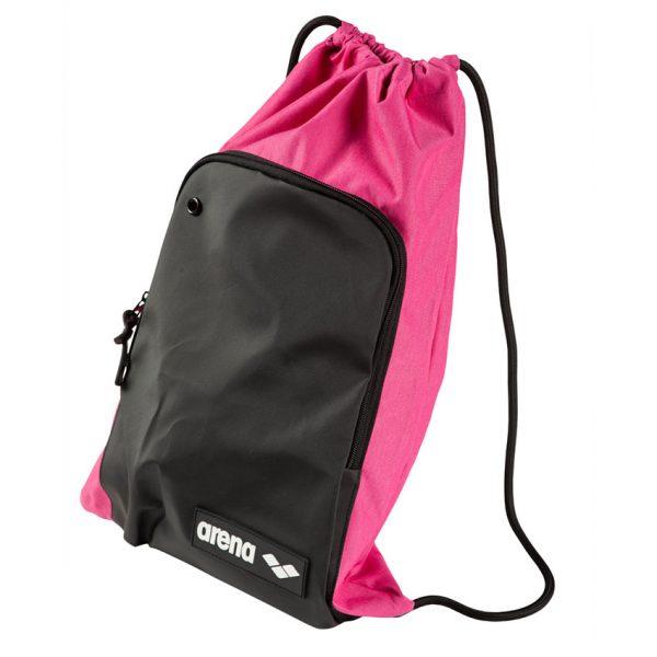 Pink Melange Arena Swim Sack