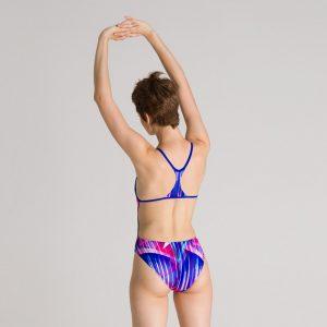 Blue Arena Prism Swimsuit