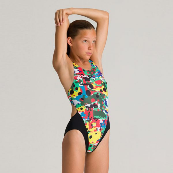 Arena Camouflage Girl's Swimsuit