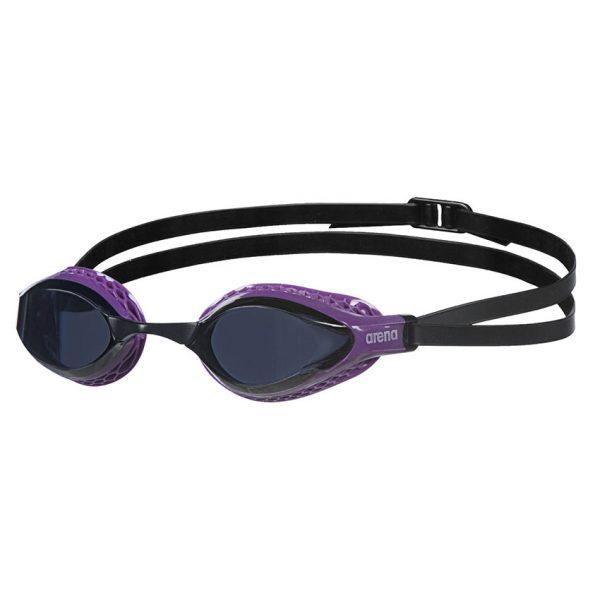 Arena Airspeed Goggles - Purple / Dark Smoke