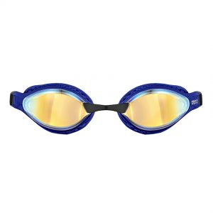 Blue Arena Airspeed Mirror Goggles - Yellow Copper