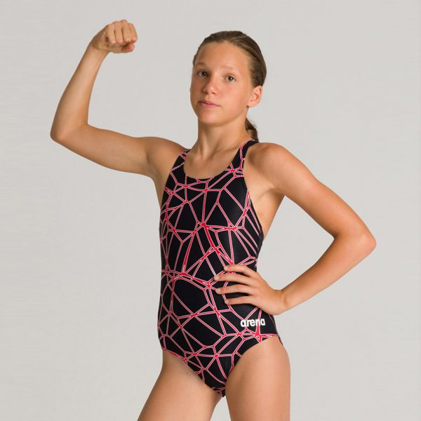 Arena Carbonics Girl's Swimsuit