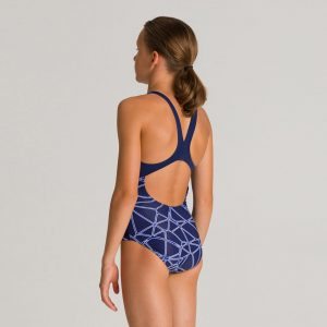 Arena Blue Carbonics Girl's Swimsuit