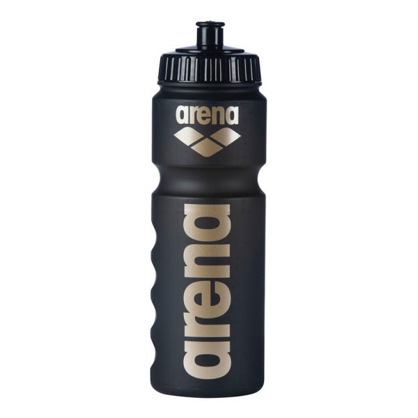 Arena Water Bottle - Black / Gold