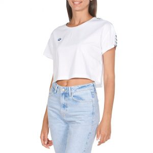 Arena Corrine White Cropped T-shirt